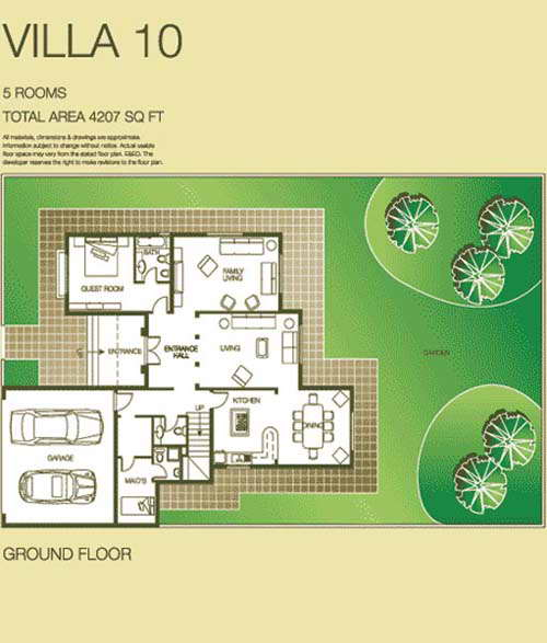 The lakes floor plans the lakes dubai for Floor plans zulal lakes dubai
