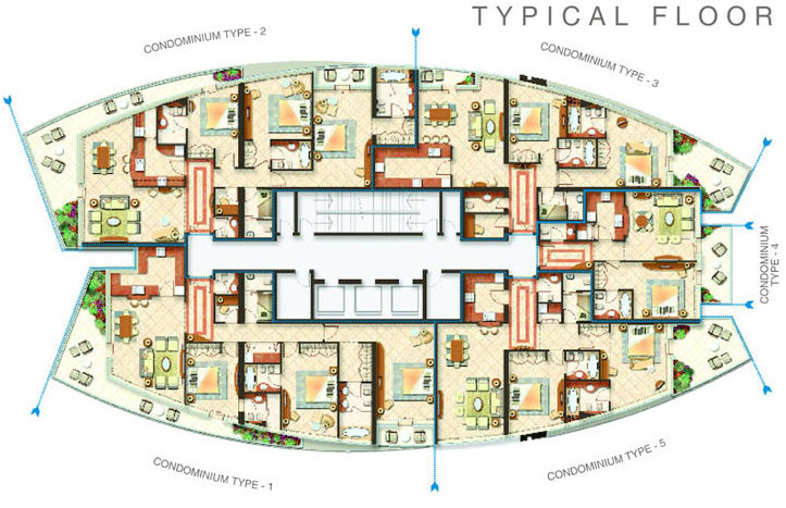 Trident Bayside Typical Floor on Small House Floor Plans And Designs