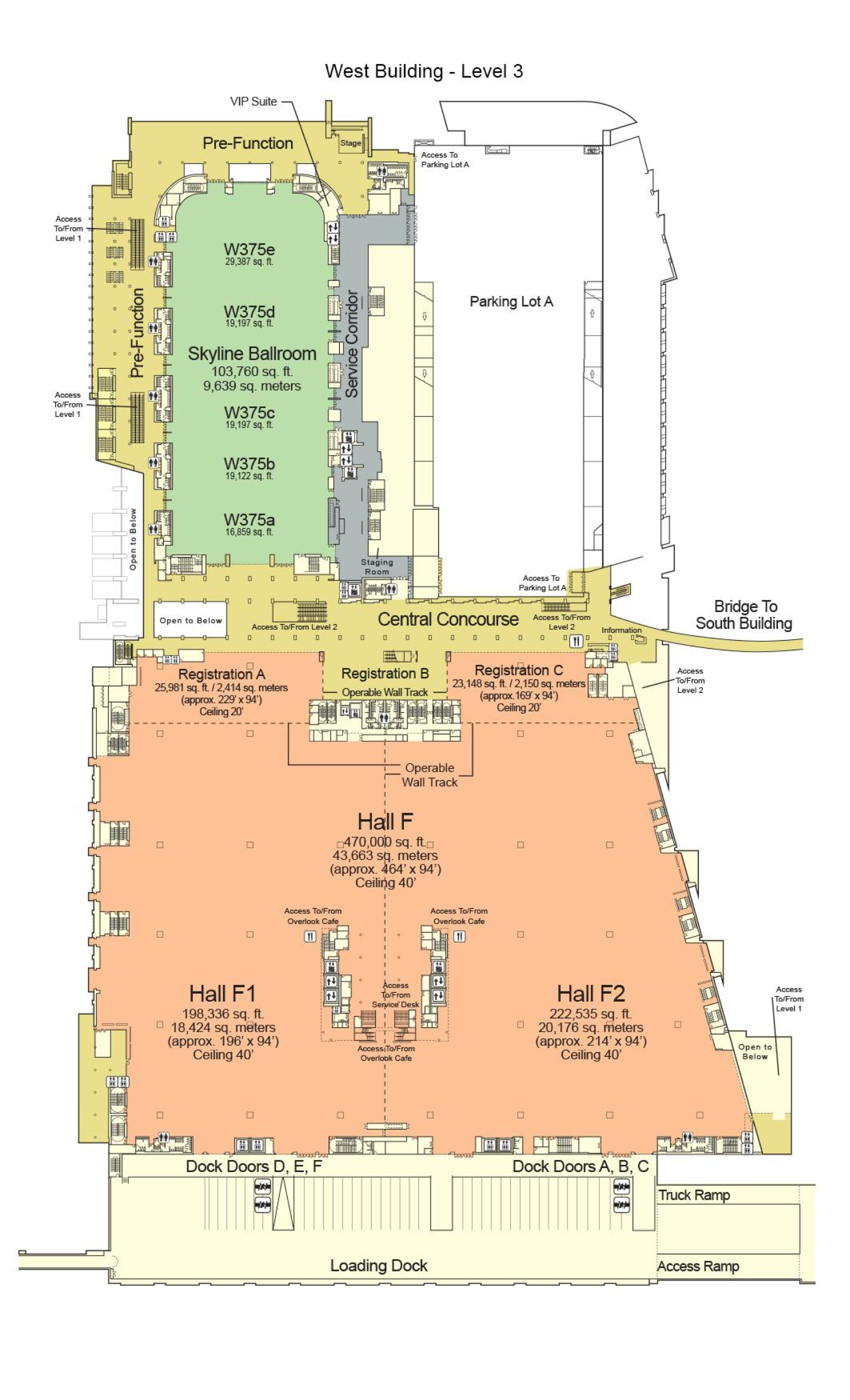 mccormick place floor plans chicago