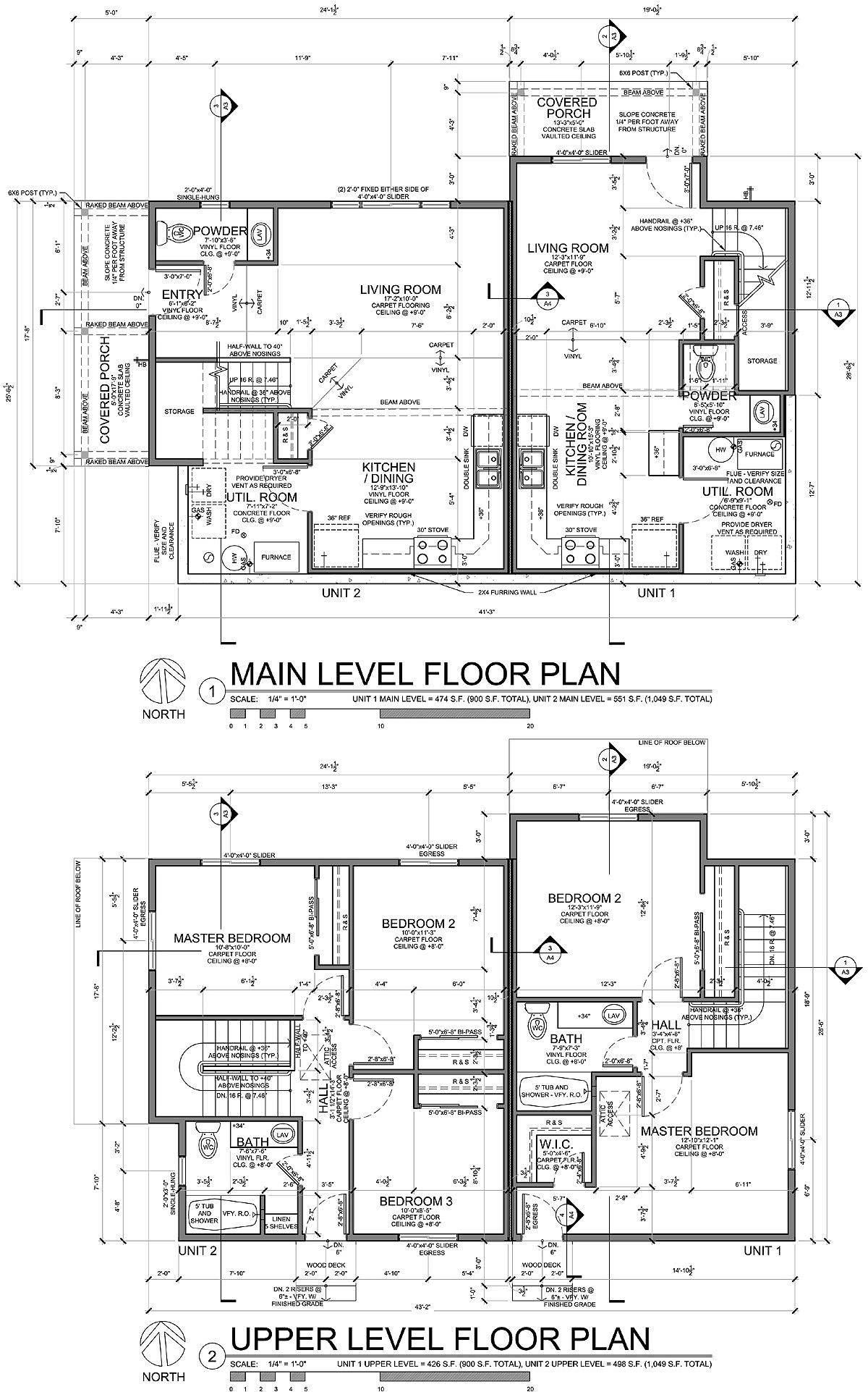 Blue Spruce House Floor Plans Denver Colorado