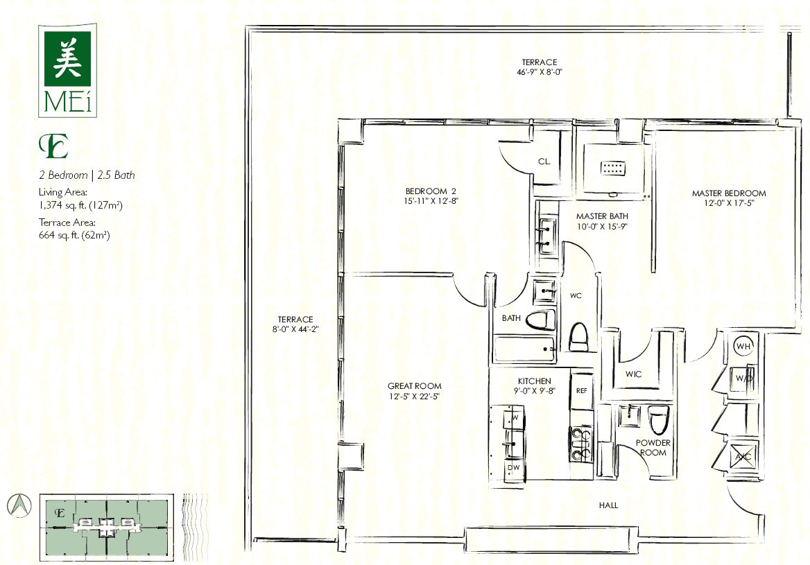 Mei Floorplans Miami Florida