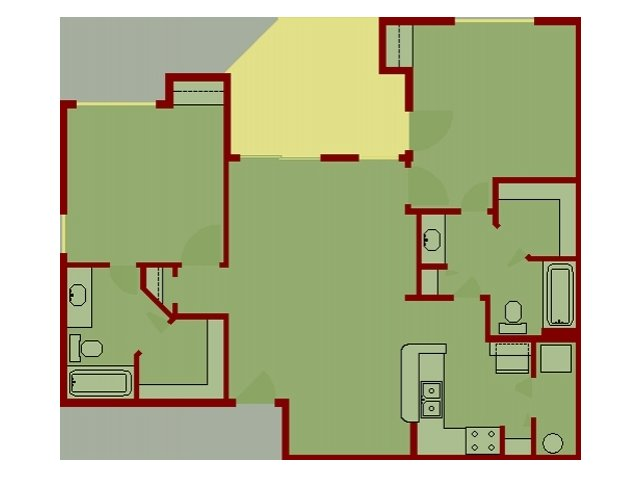 Liberty Lake Apartment Floor Plans - Boise, Idaho