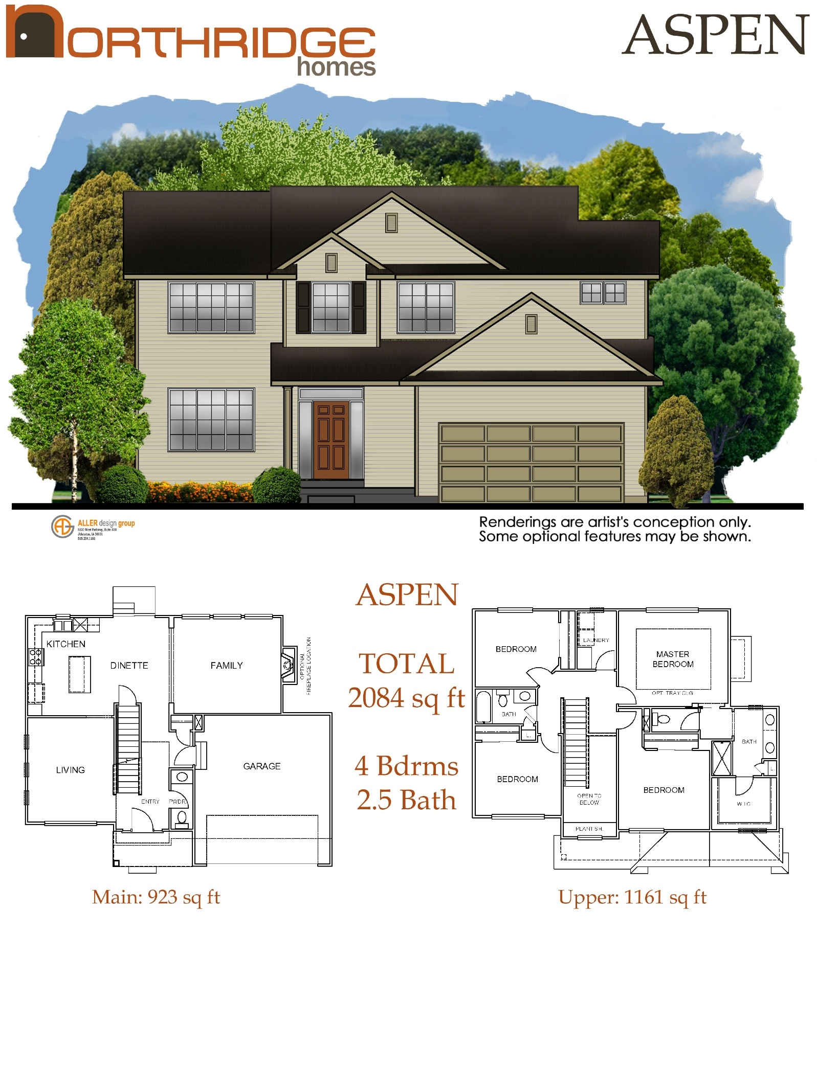 Northridge Homes Floor Plans