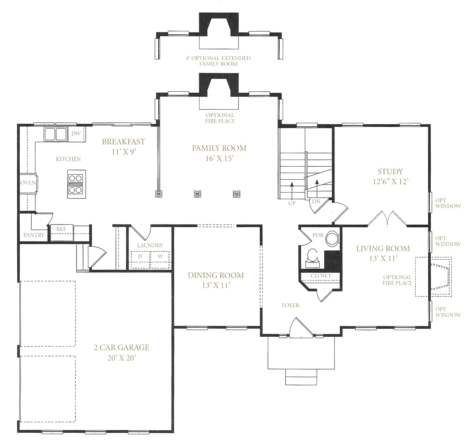 Royal Oaks Homes Floor Plans - New Market, Maryland