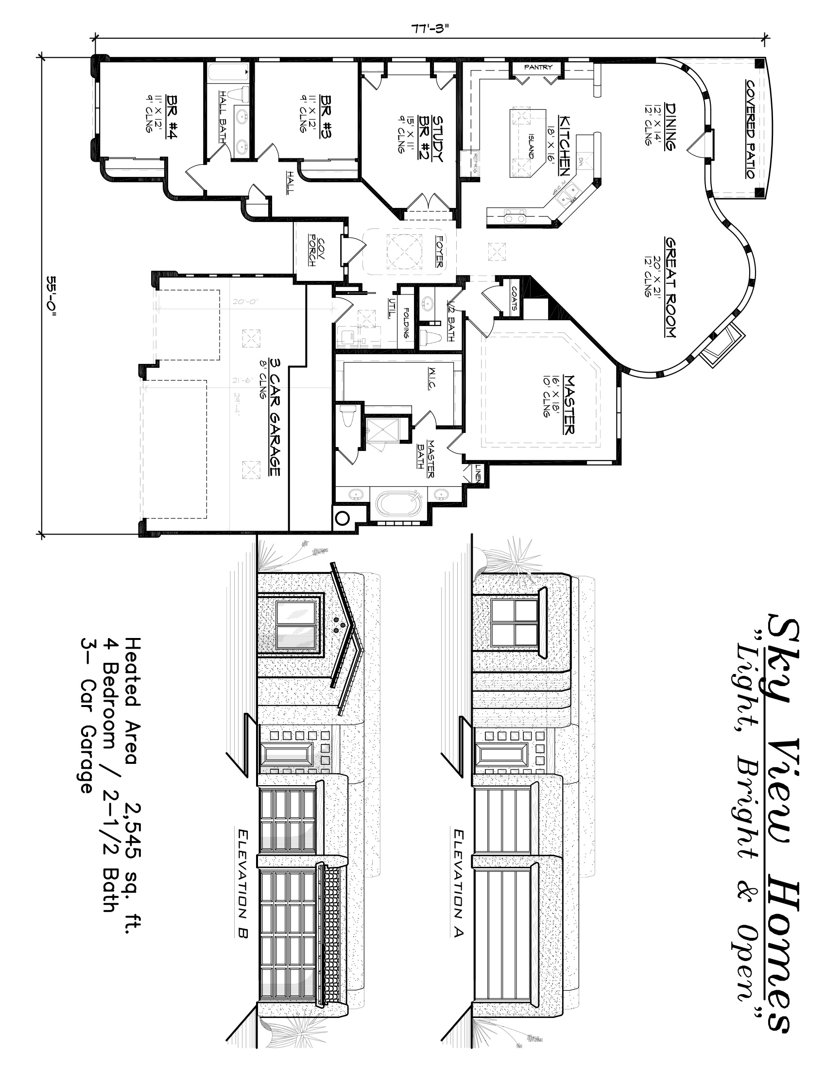 Sky view homes andalusica floor plans albuquerque new for New mexico house plans
