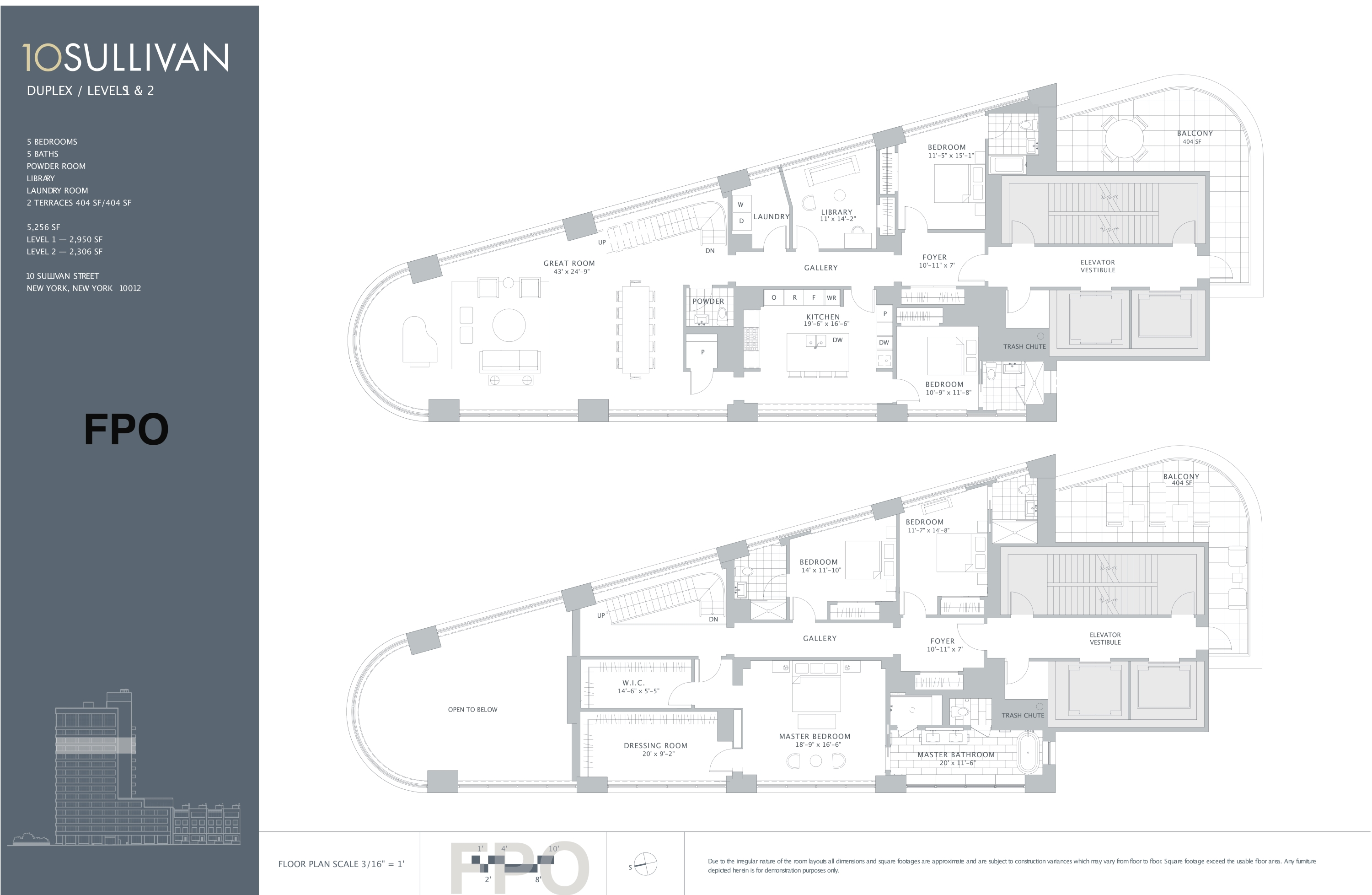 10 Sullivan Floor Plans New York City