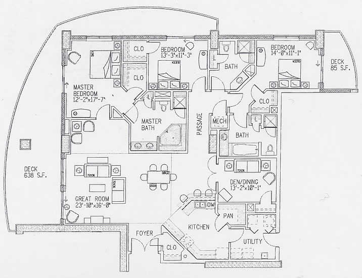 margate apartment floor plans myrtle beach south carolina