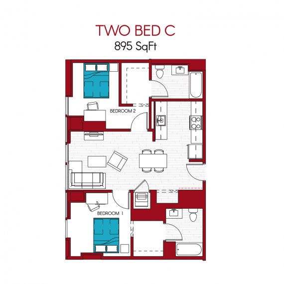 30 East Apartments Floor Plans Chicago