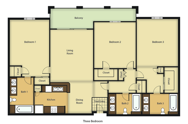 tuscany apartment floor plans south figueroa street los