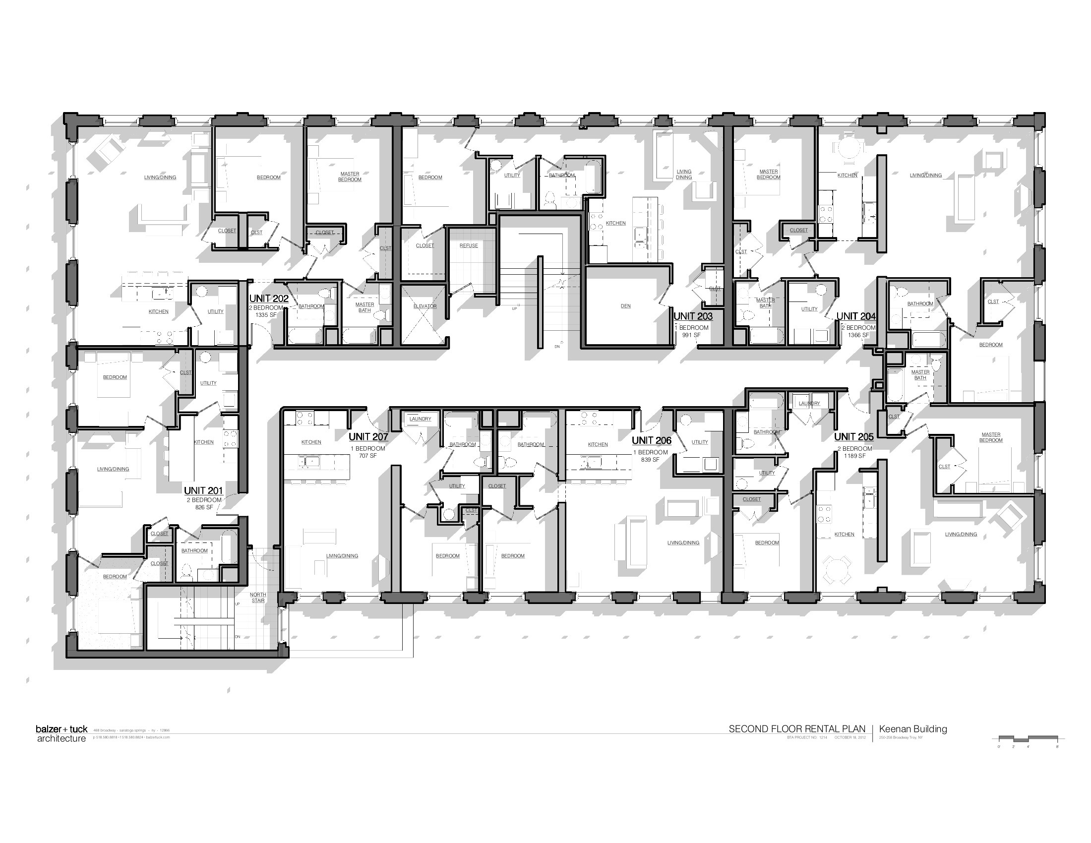 Keenan building floor plans troy new york for New building design plan