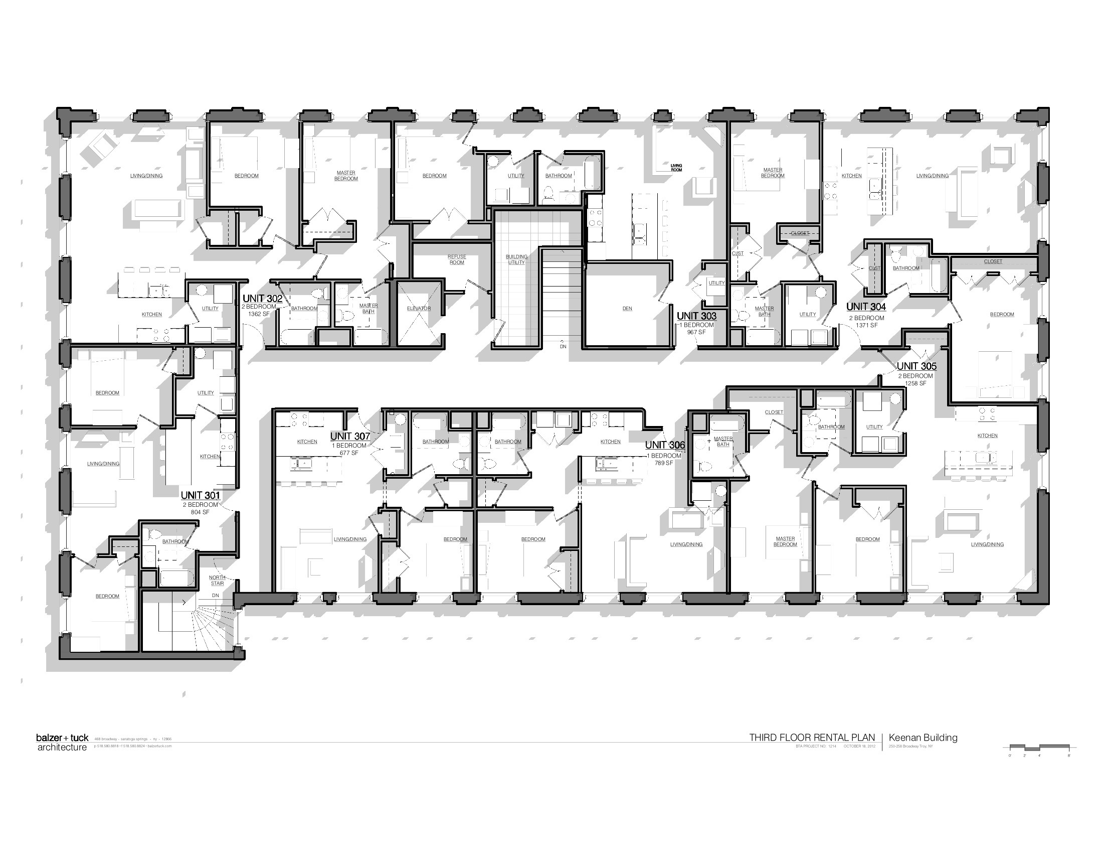 Keenan building floor plans troy new york for Floor plans manhattan apartment buildings