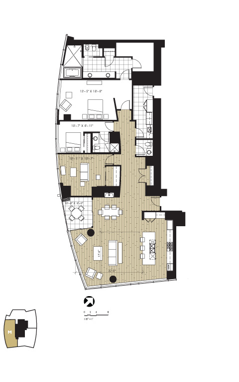 1521 second avenue floor plans seattle washington for Seattle house plans