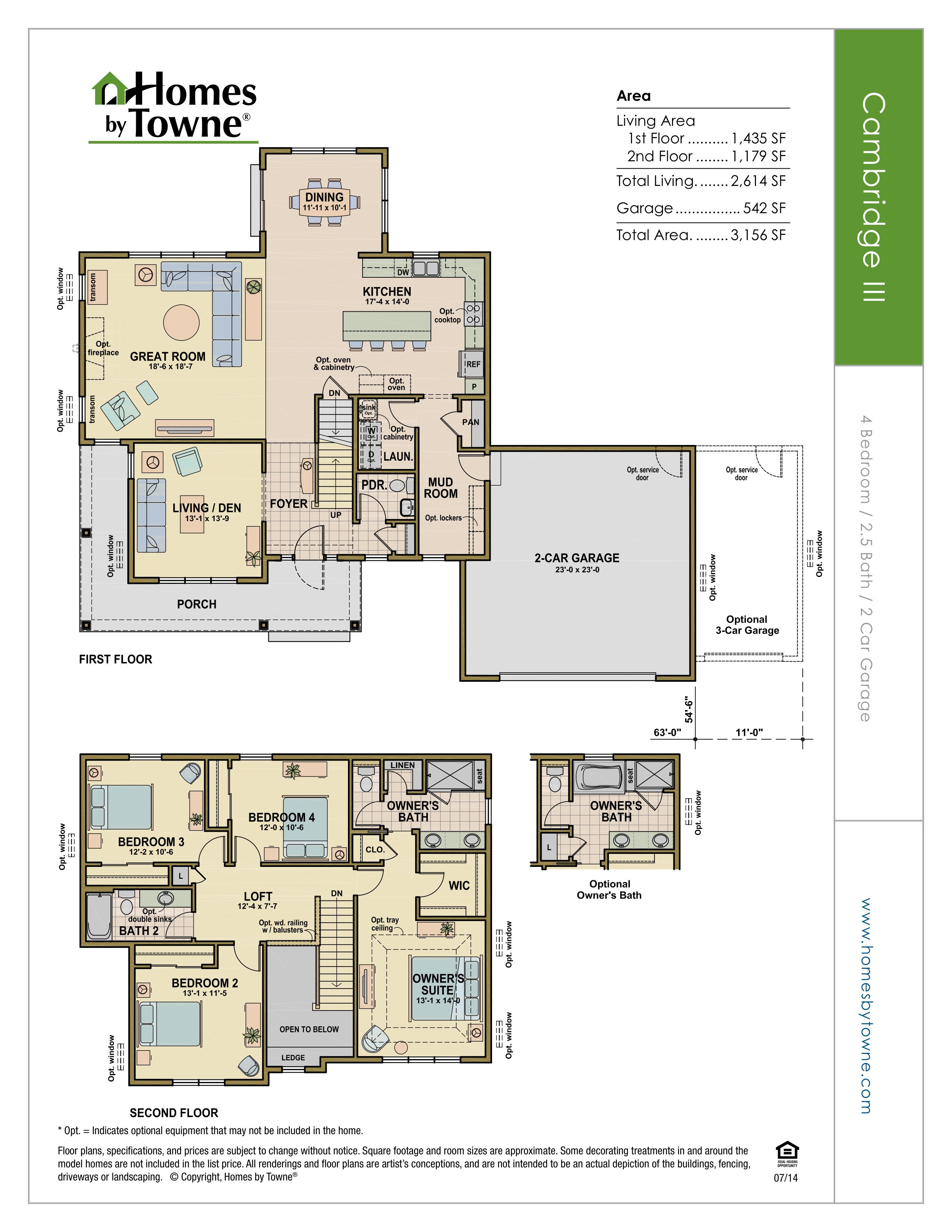 Prairie View Homes Floor Plans Cedarburg Wisconsin
