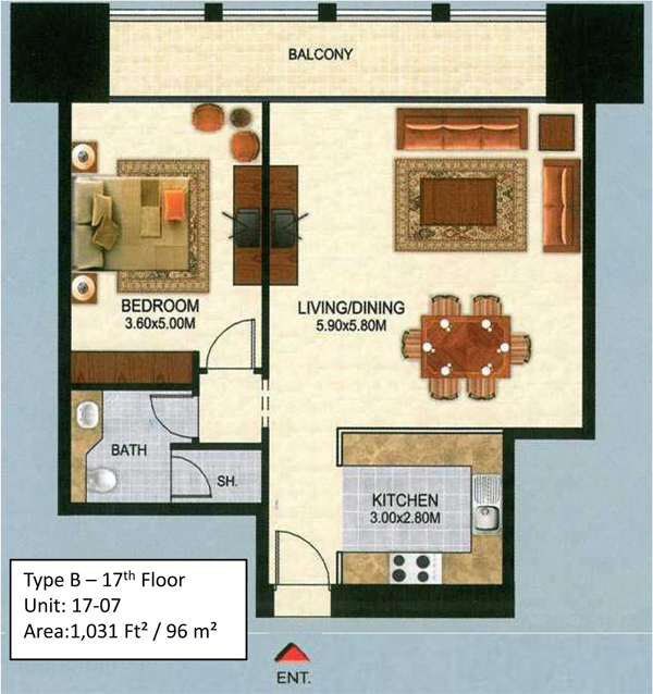 Churchill Residency Floor Plans Business Bay Dubai