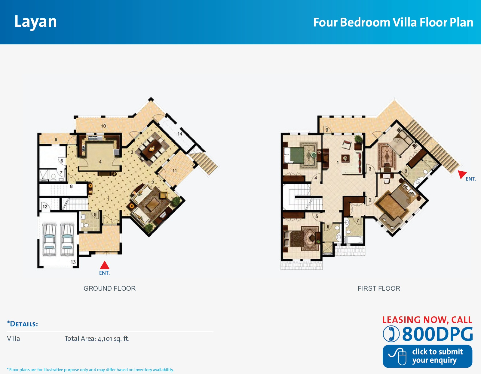 Dubai land sports city dubai floor plans for Villa floor plans