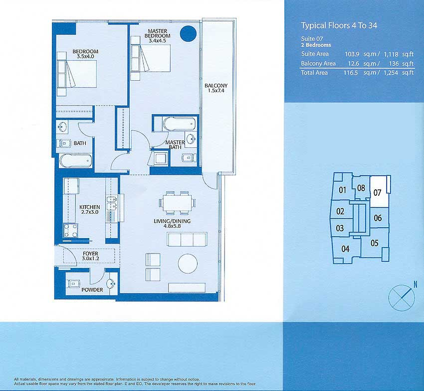 Marina Quay West Floor Plans Dubai Marina