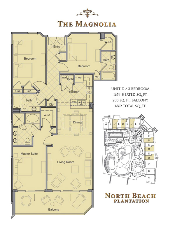 North Beach Towers Floor Plans Myrtle Beach South Carolina
