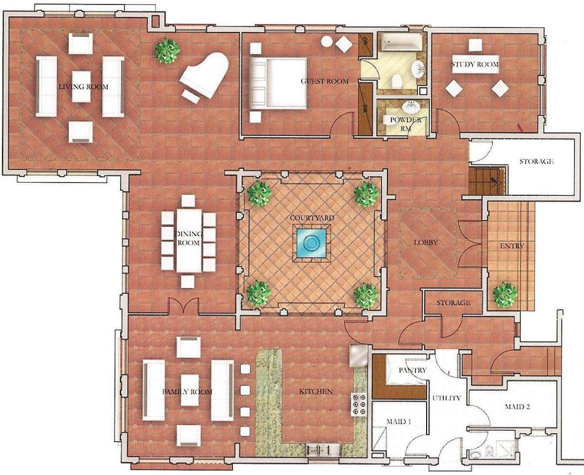 Mallorca the villa dubai floor plans for Best villa designs in the world